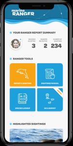 Marine Ranger app